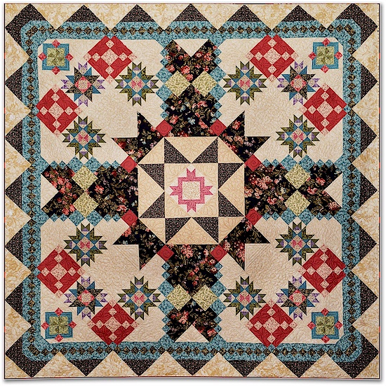 Secrets and Shadows Block of the Month by Windham Fabrics