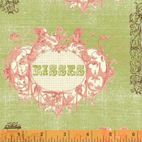 Love & Kisses, 31981-X, Windham Fabrics