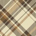 Brown plaid