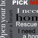 Rescue word pattern, gray
