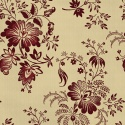 Wine all-over floral