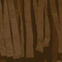 Fringe pattern, dark brown