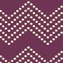 Chevron dots, on purple