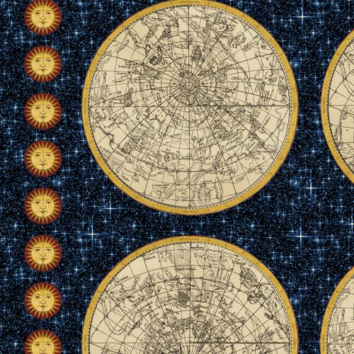Galileo 42559 x windham fabrics for Constellation fleece fabric