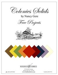Colonies Solids Project Brochure by Nancy Gere