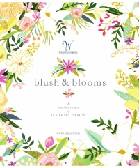 Blush & Blooms by Iza Pearl Designs