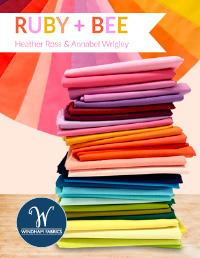 Ruby and Bee Solids by Heather Ross and Annabel Wrigley