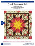 French Countryside Quilt by