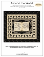 World maps 40026 x windham fabrics around the world by publicscrutiny Gallery