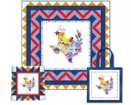 Texas State Panel (Quilt, Pillow & Tote) by