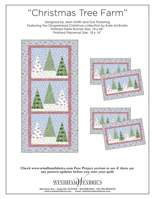 Christmas Tree Farm by Jean Smith and Sue Pickering, Free Projects ...