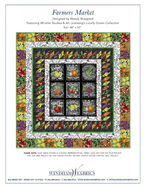 Farmers Market By Wendy Sheppard Free Projects Windham Fabrics