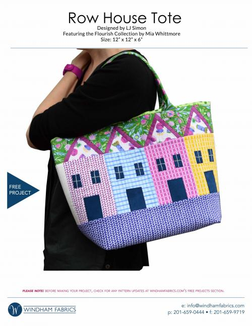 Row House Tote by LJ Simon
