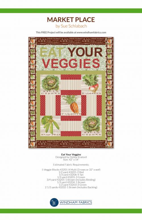 Eat Your Veggies by Debby Kratovil