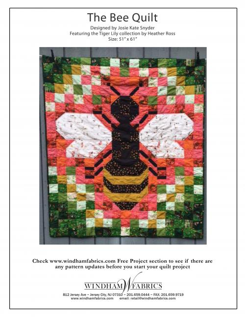 The Bee Quilt by Josie Kate Snyder