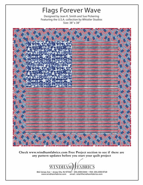 Flags Forever Wave by Jean K. Smith and Sue Pickering
