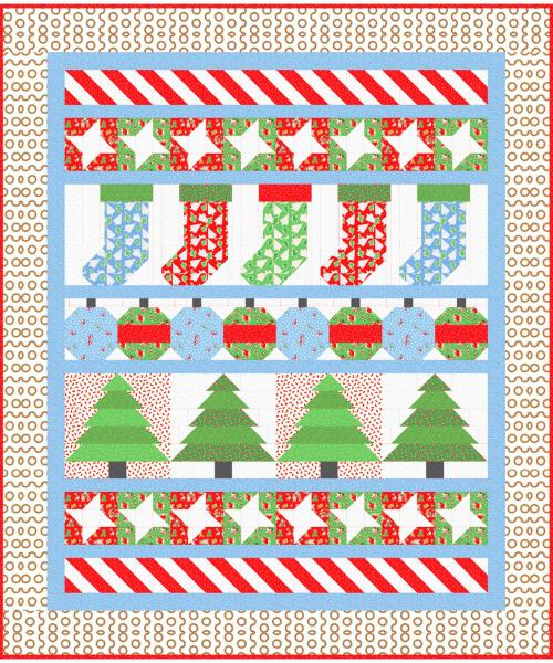 Christmas Morning (Candy Cane Lane) by Lisa Ruble