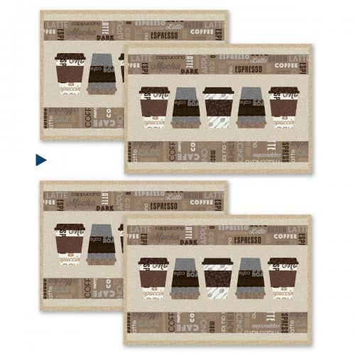 Dark Roast Placemats by Heather Valentine