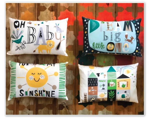 Dream Big Pillows  by LJ Simon