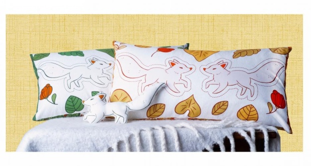 Forest Spirit - Oblong Pillows by LJ Simon