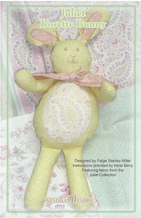 Juliet Rosette Bunny by Paige Stanley Miller