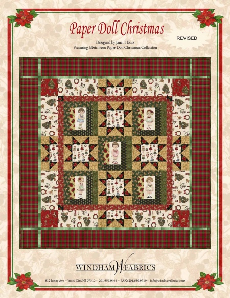 Paper Doll Christmas by Janet Houts