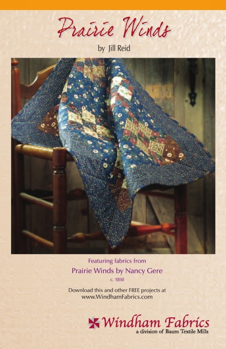 Prairie Winds Quilt By Jill Reid Free Projects Windham