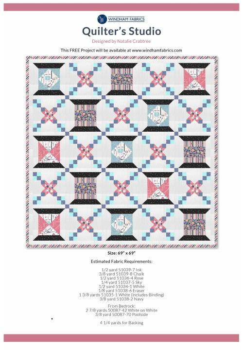 Quilters Studio by Natalie Crabtree