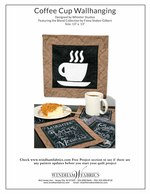 Coffee Cup Wallhanging  by Whistler Studios