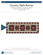 Country Table Runner by Heidi Pridemore