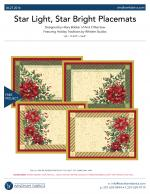 Star Light, Star Bright Placemats by Hilary Bobker of And It Was Sew
