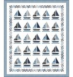 Sailboats (Gina) by Wendy Sheppard