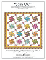 Spin Out by Bethany Fuller of Grace's Dowry Quilts