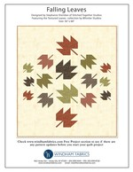 Falling Leaves by Stephanie Sheridan of Stitched Together Studios