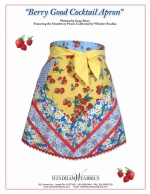 Berry Good Cocktail Apron by Irene Berry
