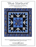 Blue Starburst by Jean Smith and Sue Pickering