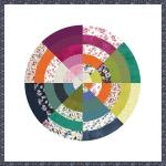 Color Wheel (Field Day) by Heidi Pridemore