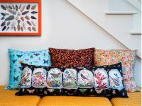 Curio Pillows by LJ Simon