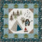 Happy Campers by Eat, Sleep, Quilt!