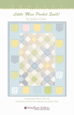 Little Man Pocket Quilt! by Jackie Clark