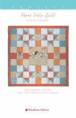 Paper Dolls Quilt by Barbara Campbell