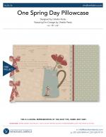 One Spring Day Pillowcase by L'Atelier Perdu