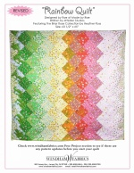 Rainbow Quilt by Rae