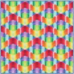 Rainbow Waves by Natalie Crabtree