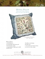 Ruffle Pillow by Anna Griffin