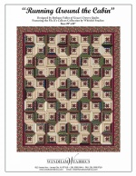 Running Around the Cabin by Bethany Fuller of Grace's Dowry Quilts