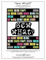 Sew What? by Whistler Studios