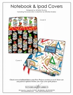 Notepook & iPad Covers by Whistler Studios