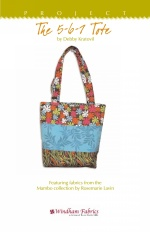 The 5-6-7 Tote by Debby Kratovil
