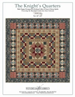 The Knight's Quarters by Bethany Fuller of Grace's Dowry Quilts